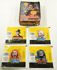 1988 Topps Fright Flicks Empty Display Box Filled with Wax Wrappers ^ Freddy