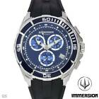 WHALE IMMERSION MENS CHRONOGRAPH STAINLESS STEEL RUBBER STRAP SWISS WATCH im6872