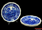 Lot of 4 Spode Copeland Tower Blue Older Gadroon Mark 10 5/8