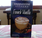 *SEALED NEW Supreme Cappuccino Instant French Vanilla Coffee - 5 single servings