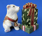 Fitz and Floyd Christmas Tidings (2004) Salt and Pepper Shakers