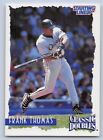 1997  FRANK THOMAS - Starting Lineup Card - CHICAGO WHITE SOX - Classic Doubles