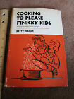 Vintage Cookbook Advice for Parents Feeding kids,Teenagers 1960's Healthy