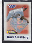 2000  CURT SCHILLING - Starting Lineup Card -