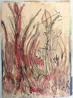VINTAGE ANTONI TAPIES 1923 - 2012 ABSTRACT WATERCOLOR & INK  14 3/4' x 11