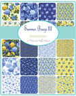 Summer Breeze III  Floral Moda Quilt  Fabric Layer Cake 42 sqs 10
