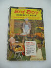 Big Boy Barbecue Book 1960 Vintage Cook Book Cookbook