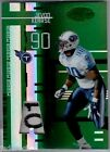 Jevon Kearse 2005 Leaf Certified Materials Mirror Emerald Laundry Tag Patch #2 5