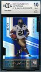 CALVIN JOHNSON 2007 DONRUSS ELITE ASPIRATIONS # 79 ROOKIE CARD BGS BCCG 10!