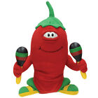 NEW Musical Animated Chili Pepper Junior Plush Toy Sings