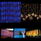 300 900 1800 LED Outdoor Fairy Curtains String light for Xmas Wedding Party