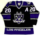 LUC ROBITAILLE LOS ANGELES KINGS 1999 AUTHENTIC STARTER JERSEY SIZE 54