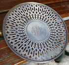 Antique Sterling Silver Sandwich Plate Gorham 280A Reticulated Dish