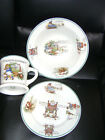 WARWICK CHINA CHILD'S DISH SET NURSERY RHYME CUP BOWL PLATE ALBERT PICK