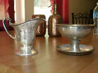 2 Piece Nickel Silver Electroplate Benedict Sheffield, K.S.  Cup Pitcher