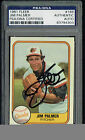 Jim Palmer Cards, Rookie Cards and Autographed Memorabilia Guide 32