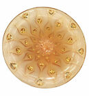 $4200 NEW Lalique Amber Crystal 15