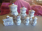 Vintage Royal Sealy Heritage Canister Set salt pep Sugar Coffee Tea Japan 1950's