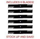Gator Mulching Blades 6 Pack for 60 John Deere Deck 737 757 777 797 997
