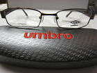 UMBRO  EYEGLASSES FRAME U858  BROWN  51-18-135  DEMO   WITH CASE AUTHENTIC