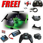 Traxxas LaTrax Alias Quad w/ Camera / Lens / Lightbar + Free Faze Quad : Green