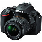 Nikon D5500 HD Wi Fi Digital SLR Camera  18 55mm VR DX II Lens Black