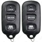 2 New Replacement Keyless Entry Remote Key Car Fob Glass For HYQ12BBX