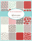 Winterberry  Moda Jelly Roll Quilt Fabric 40 strips  2.5