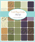 Lady Slipper Lodge Holly Taylor  Moda Quilt  Fabric Layer Cake 42 sqs 10