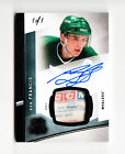 2012-13 THE CUP RON FRANCIS WHALERS CCM LAUNDRY TAG PATCH AUTO ON CARD #D1 1 HOF
