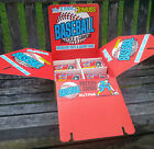 1986 Donruss Counter Display Box Baseball Pop-Up Puzzles Cards 110 Packs Remain