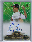 2014 Topps Tribute to the Pastime Green GREG MADDUX Autograph #25 25 (5418)