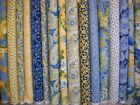 Moda Fabric ~ 18 half yard French Country Yellow and Blue 9yds FREE SHIP