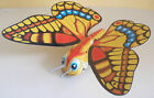 Vintage large mechanical BUTTERFLY tin toy Yone Japan - working!