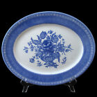 Churchill Out of the Blue Oblong Serving Platter Made in England