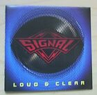 SIGNAL LOUD AND CLEAR CD 10 TRACK 1989 USA