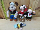 Lot of Popeye the Sailor Man  Plush Toys – Olive Oyl Wimpy Bluto or Brutus
