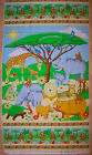 A SAFARI PHOTO AFRICAN ANIMALS COTTON QUILTING FABRIC PANEL BY  AVLYN
