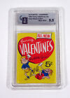 1960 Topps Funny Valentines Unopened Wax Pack GAI 9.5 Gem Mint