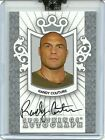 RANDY COUTURE 2007 Silver Versi on Card Auto 10 Sportking Uncirculated AUTOGRAPH