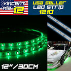 2pcs Green Red Bow LED 12