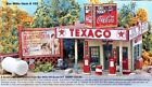 HO-Scale Gas Stop  Old Time  Bar Mills Bud Smiley's  Laser cut wood Kit