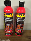 LOT OF 2 FIREADE KOOL FIRE EXTINGUISHERS ADDED PROTECTION FOR HOME / CAR / RV