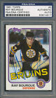 1981 82 Topps #5 Ray Bourque PSA DNA Certified Authentic Auto Autograph *4917