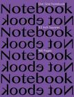 Dot Grid Notebook 1/2 Inch Squares 160 Pages: Notebook Not eBook with Purple Cov