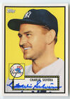 CHARLIE SILVERA 2011 TOPPS LINEAGE YANKEES AUTO AUTOGRAPH