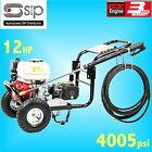 SIP 08950 12hp 4005psi Petrol Jet Pressure Washer farm yard truck bus cleaner