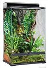 Exo Terra Reptile Glass Natural Medium X Tall Terrarium 24x 18x 36