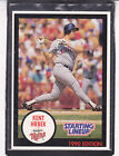1990  KENT HRBEK - Kenner Starting Lineup Card - Minnesota Twins - (BLUE)