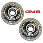 For BMW E30 318i 325 Set of 2 Front Left  Right Wheel Hub w Bearings MEYLE